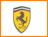 BADGE FIAT 500 SCUDO LATERALE S.F. TRIBUTO FERRARI
